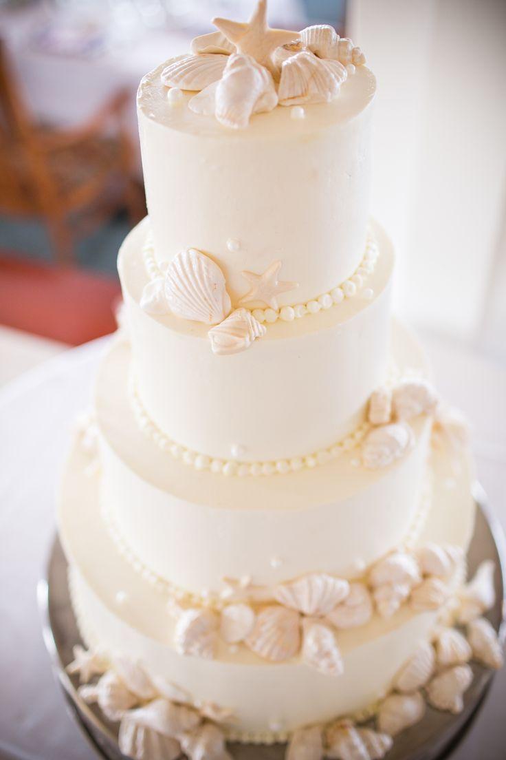 Seashell Wedding Cakes  Best 25 Seashell wedding cakes ideas on Pinterest