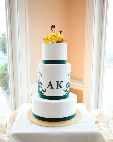 Seattle Wedding Cakes  Honey Crumb Cake Studio Seattle WA Wedding Cake