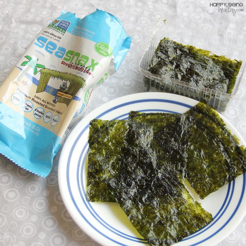 Seaweed Snacks Healthy  Hemp Hearts