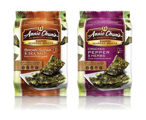 Seaweed Snacks Healthy  Annie Chun's Introduces New Flavors of Healthy Seaweed Snacks