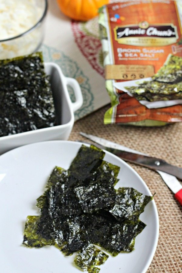 Seaweed Snacks Healthy  Healthy Snack Mix featuring Annie Chuns Roasted Seaweed Snacks