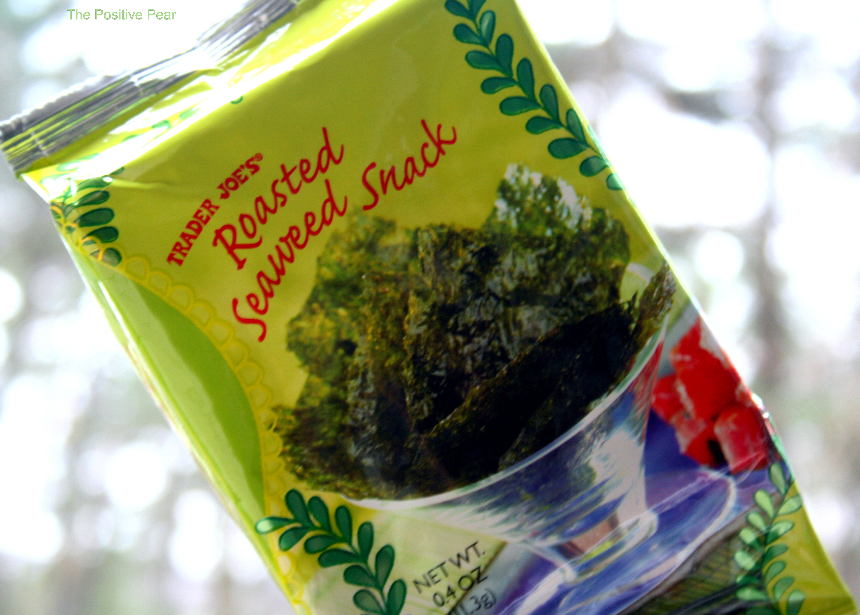 Seaweed Snacks Healthy  kirkland roasted seaweed iodine content