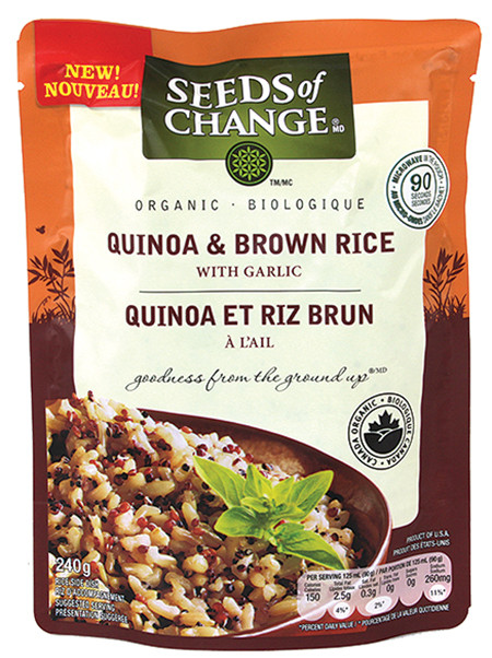 Seeds Of Change Organic Quinoa And Brown Rice  Organic Dishes Country Grocer