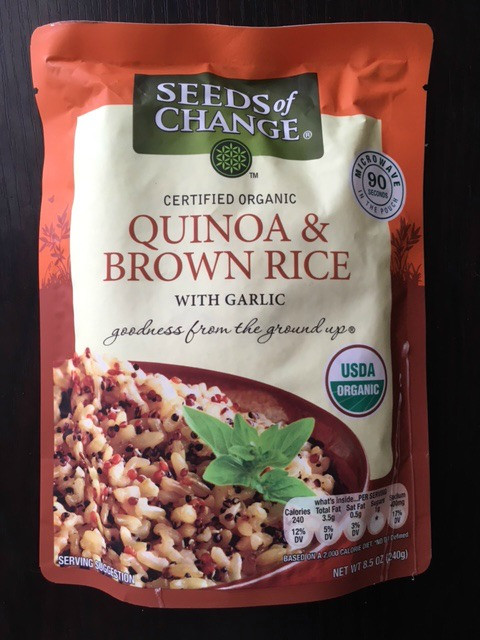 Seeds Of Change Organic Quinoa And Brown Rice  WhatsInYourBasket Costco Edition clairespiration