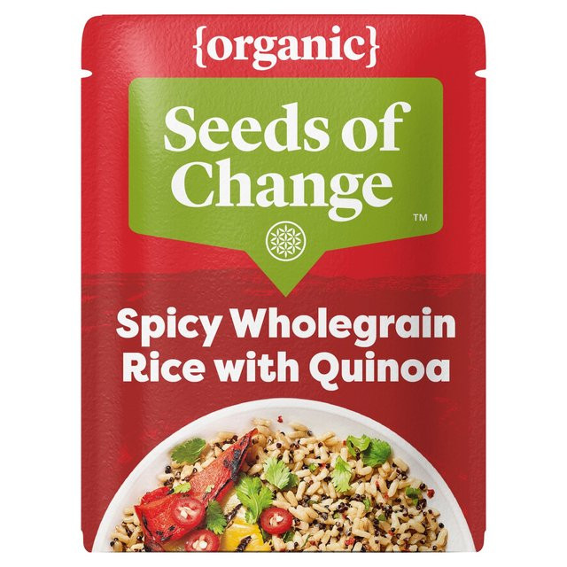 Seeds Of Change Organic Quinoa And Brown Rice  Seeds Change Spicy Quinoa & Wholegrain Organic Rice