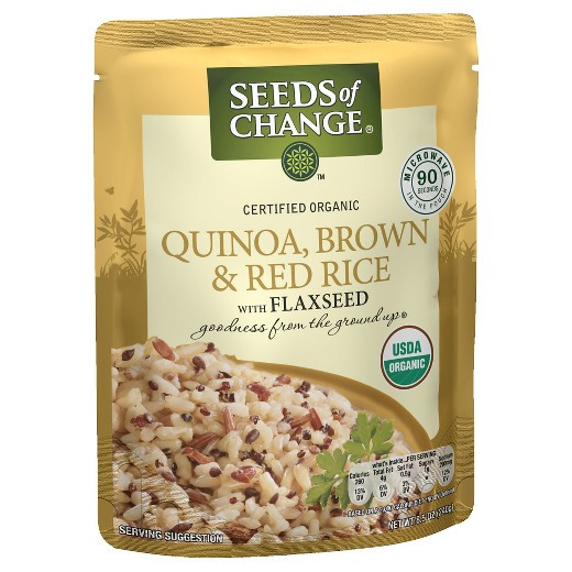 Seeds Of Change Organic Quinoa And Brown Rice  Seeds of Change Organic Quinoa Brown & Red Rice w