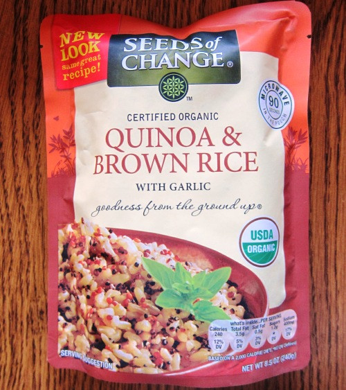 Seeds Of Change Organic Quinoa And Brown Rice  Instant Quinoa And Brown Rice Mix By Seeds Change