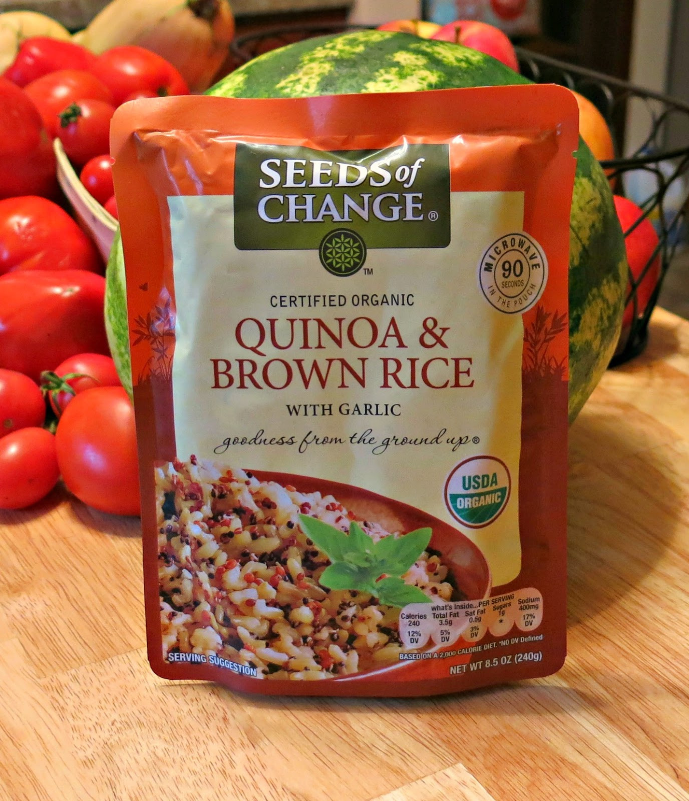 Seeds Of Change Organic Quinoa And Brown Rice  Granny Fabulosa Seeds of Change Organic Quinoa and Brown