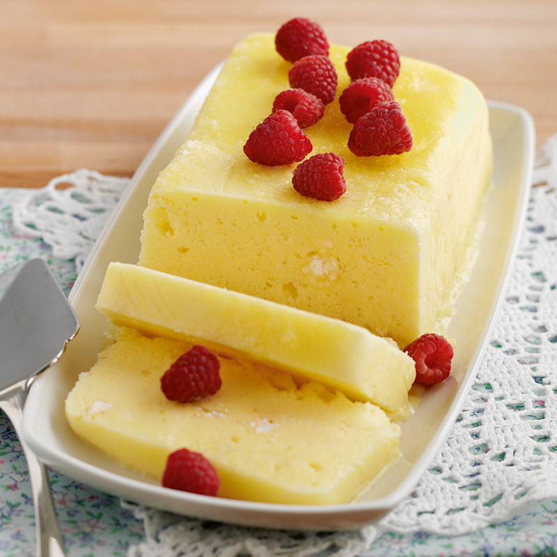 Semi Healthy Desserts  Lemon semifreddo Healthy Recipe