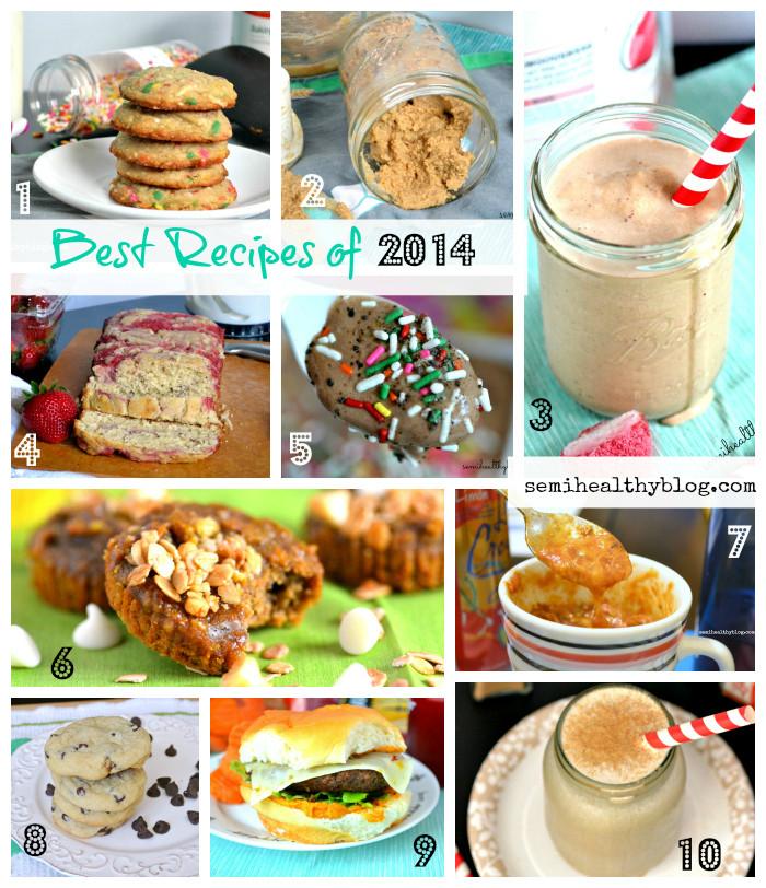 Semi Healthy Desserts  Best of 2014 20 Semi Healthy Recipes