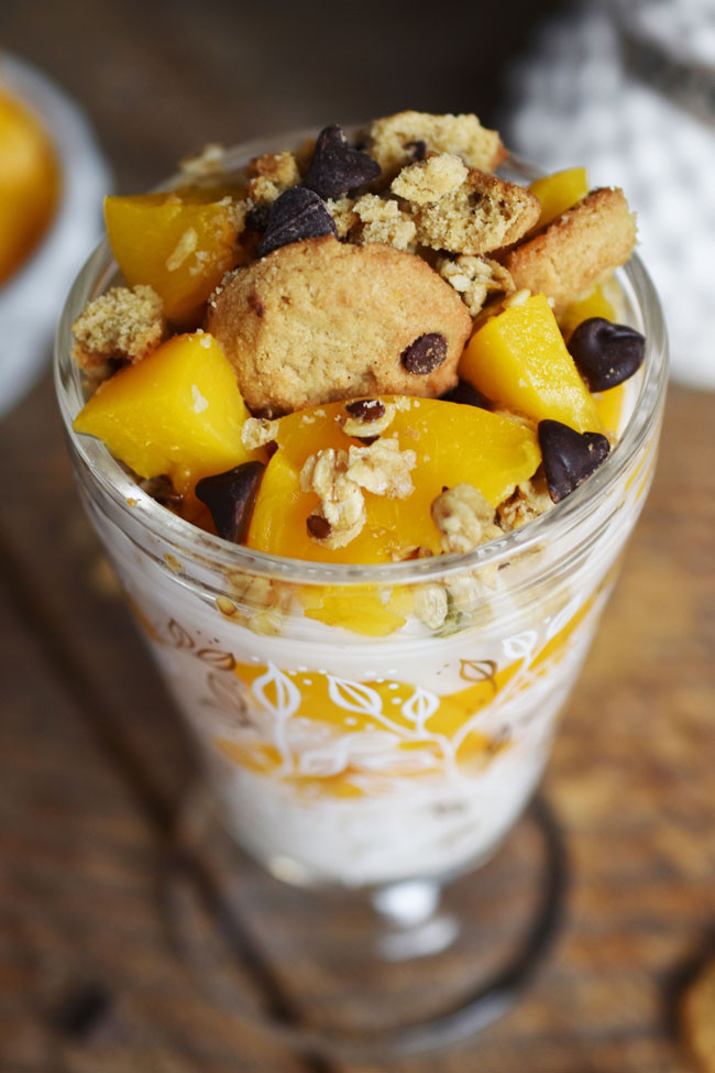 Semi Healthy Desserts  Woman in Real Life The Art of the Everyday Peachy Dessert