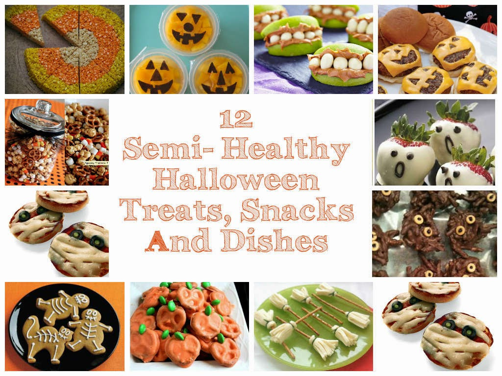 Semi Healthy Snacks  First Time Mom and Dad 12 Semi Healthy Halloween Treats
