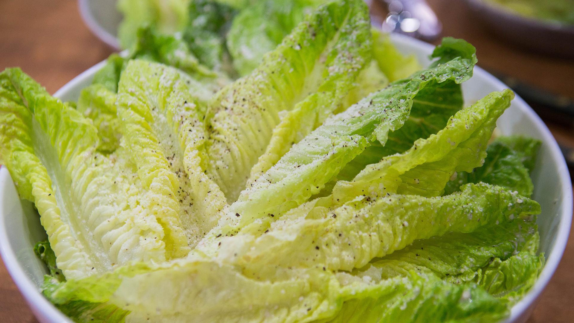 Semi Healthy Snacks  Lightened up Caesar salad & cacio e pepe kugel recipes