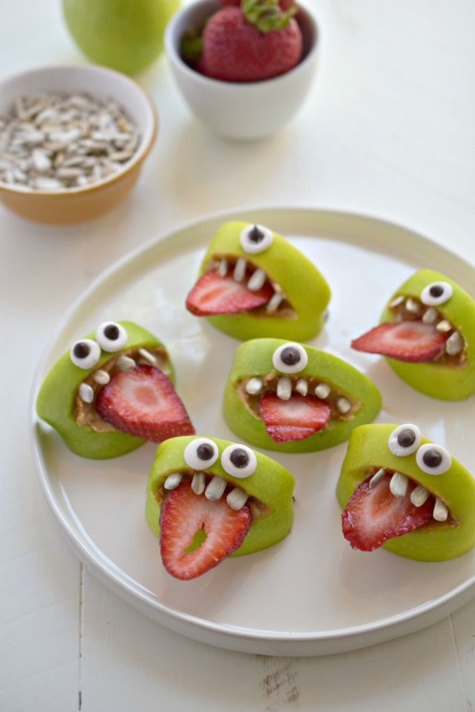 Semi Healthy Snacks  38 Fun and Delicious Halloween Snacks for Kids