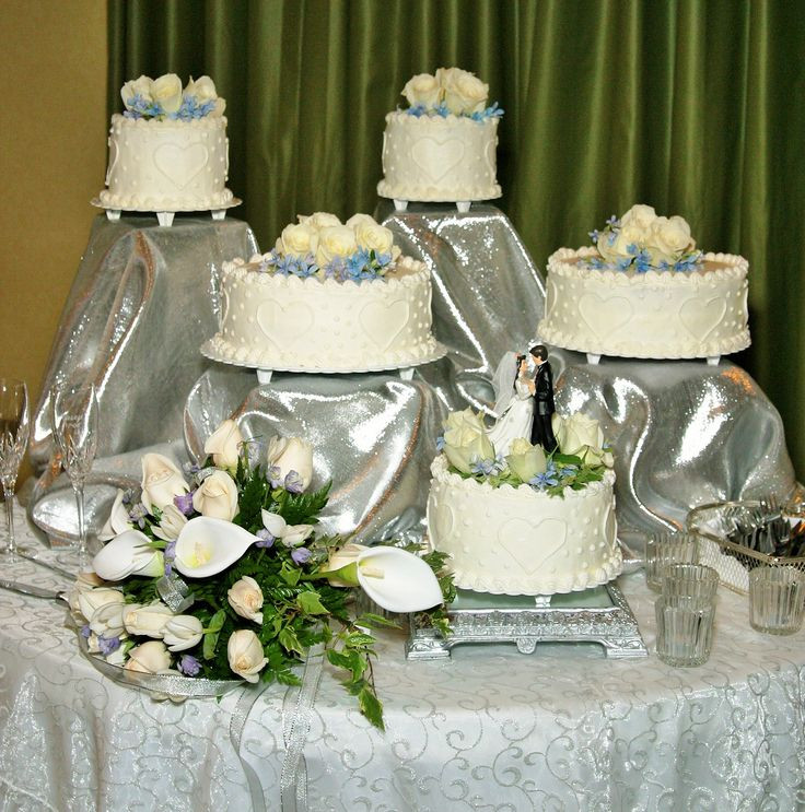 Separate Tier Wedding Cakes  17 best images about wedding cake ideas on Pinterest