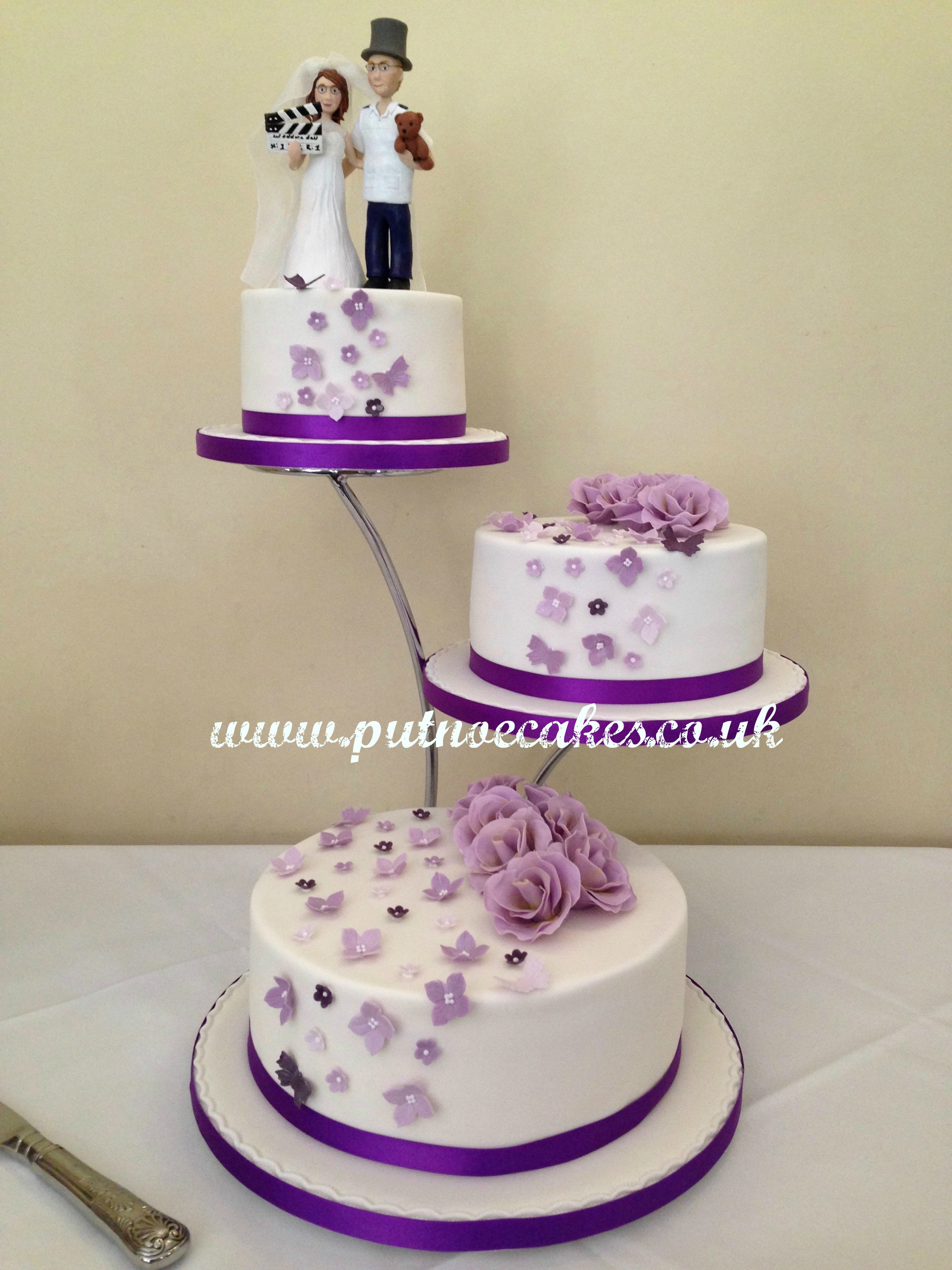 Separate Tier Wedding Cakes  Separate Tier Wedding Cakes