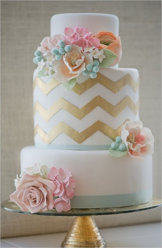 Shabby Sheek Wedding Cakes  Erica Obrian Cakes Vintage Inspired Shabby Chic FrouFrou