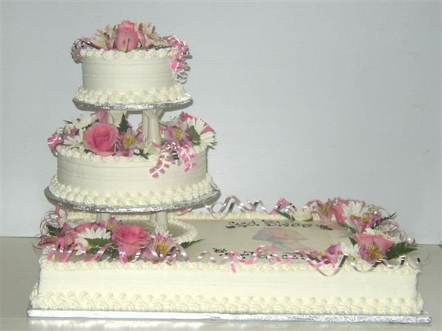 Sheet Cake Wedding  Wedding Sheet Cake Decorations