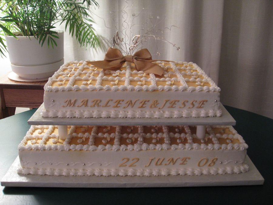 Sheet Wedding Cakes  Wedding Reception Sheet Cakes CakeCentral