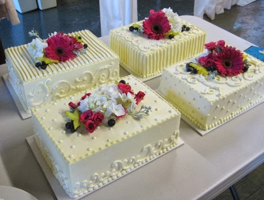 Sheet Wedding Cakes  DIY Frugally Fabulous Wedding Receptions