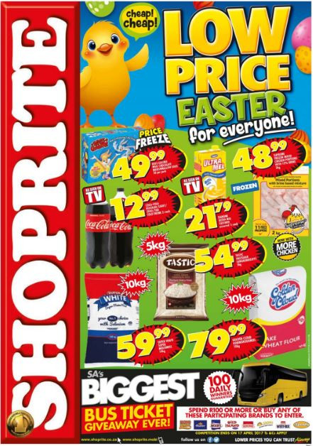 Shoprite Free Ham Easter 2019  Free State Northern Cape Shoprite Easter Promotions 10