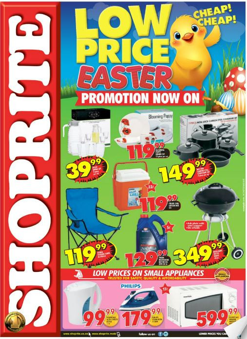 Shoprite Free Ham Easter 2019  Northern Cape Free State Shoprite Easter Low Prices 21