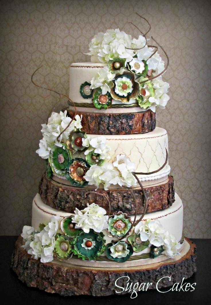 Show Me Wedding Cakes  Show me your tree inspired wedding cakes Weddingbee