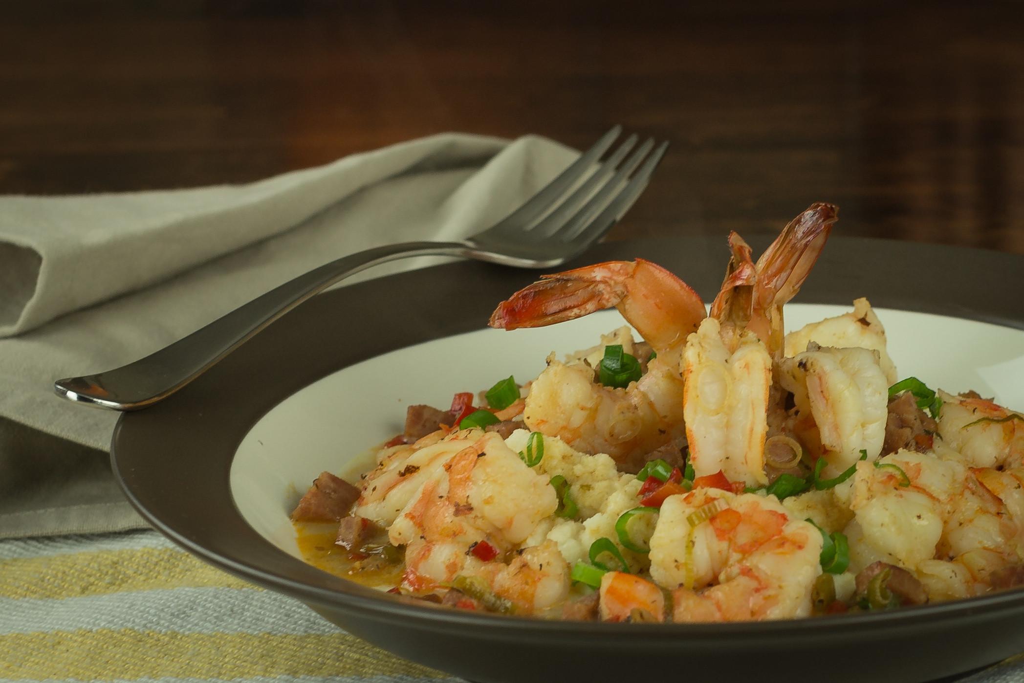 Shrimp And Grits Healthy  Cauliflower Shrimp N Grits Bold N Healthy