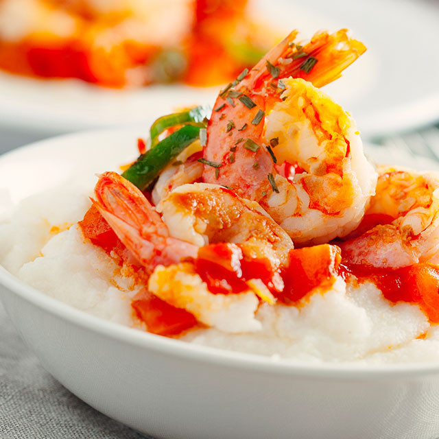 Shrimp And Grits Healthy  Healthy Shrimp and Grits Recipe
