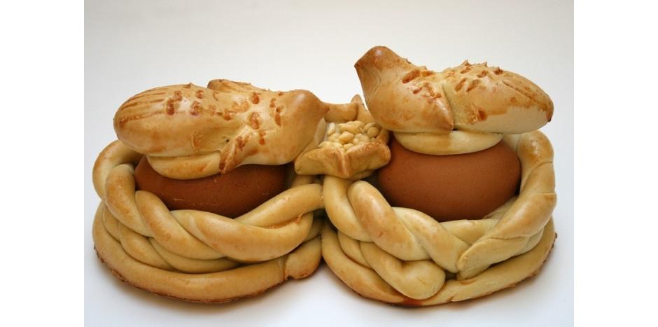 Sicilian Easter Bread  Palummeddi Traditional Sicilian Easter Egg Bread