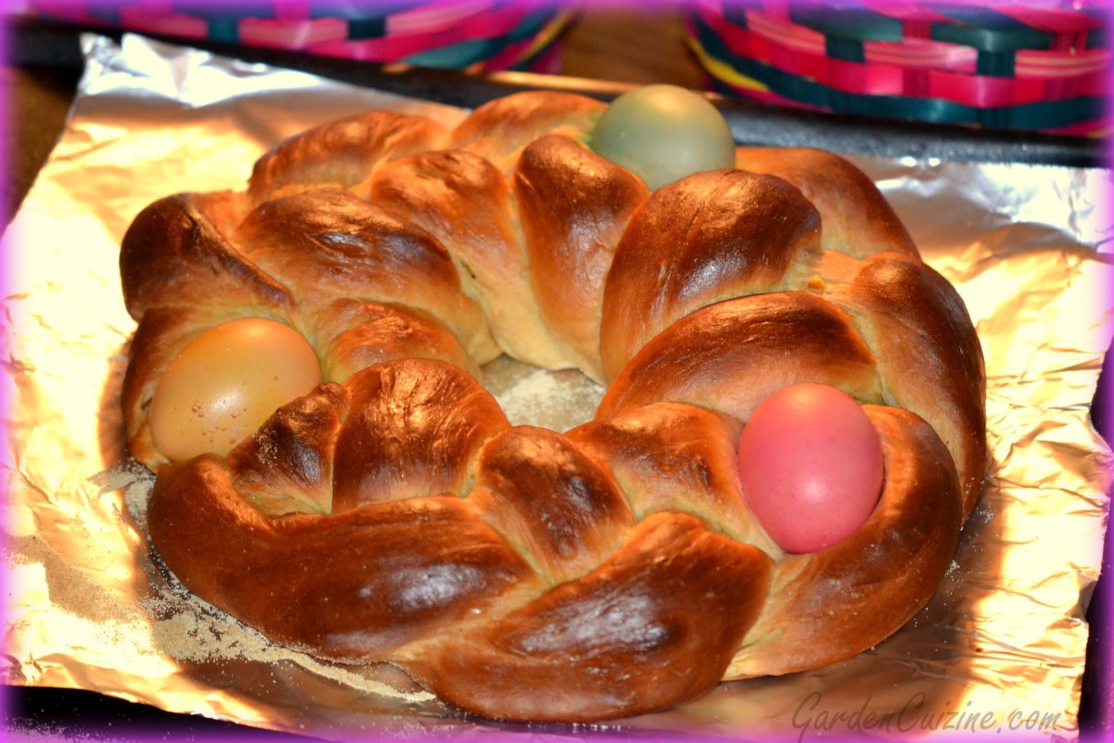 Sicilian Easter Bread  GardenCuizine Whole grain Italian Easter Bread Recipe