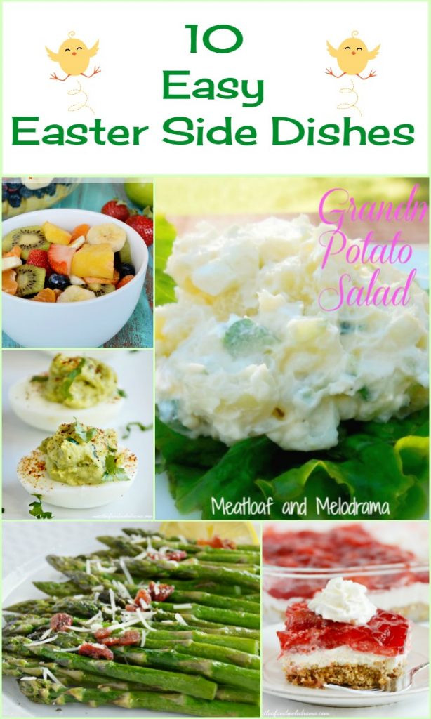 Side Dishes For Easter  10 Easy Easter Side Dishes Meatloaf and Melodrama