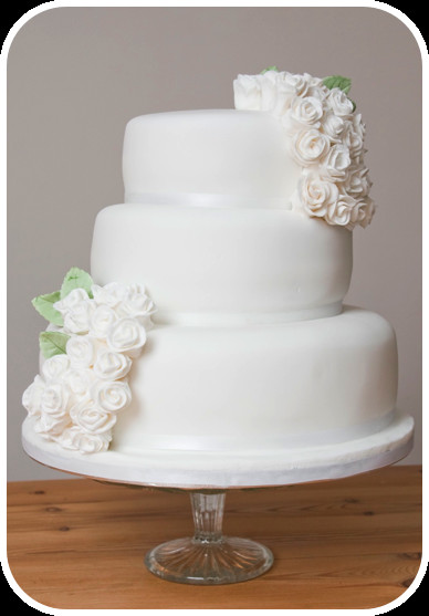 Simple 3 Tiered Wedding Cakes  cupcake – SERYNNA