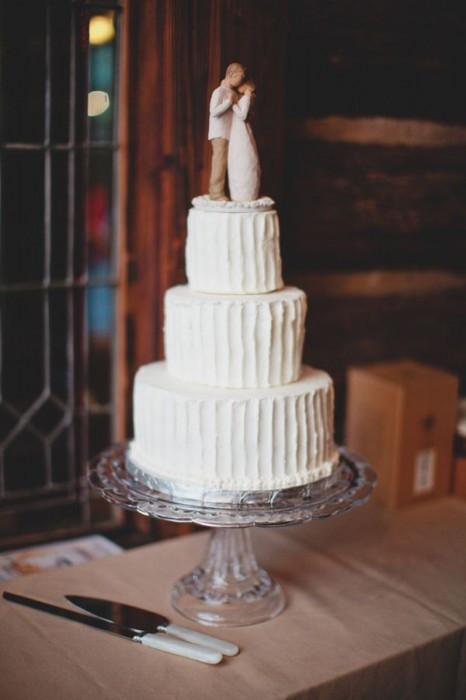 Simple 3 Tiered Wedding Cakes  Simple 3 tiered wedding cake