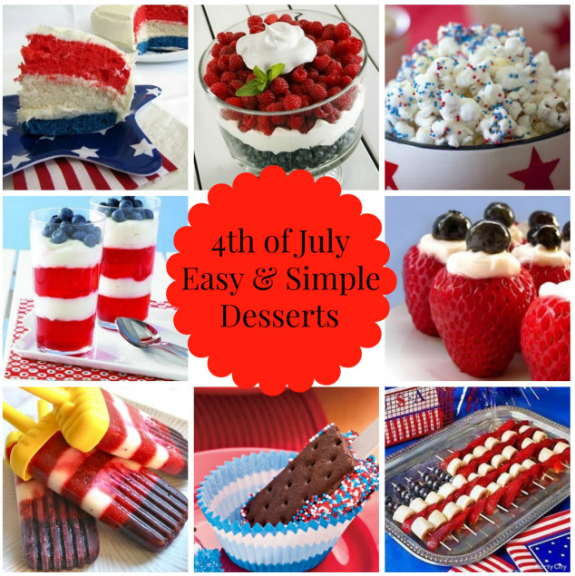 Simple 4Th Of July Desserts  Easy and Simple 4th of July Desserts Stylish Life for Moms