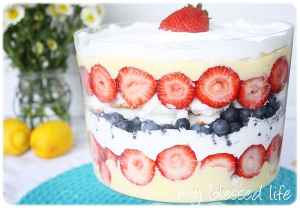 Simple 4Th Of July Desserts  Easy Patriotic Trifle Dessert