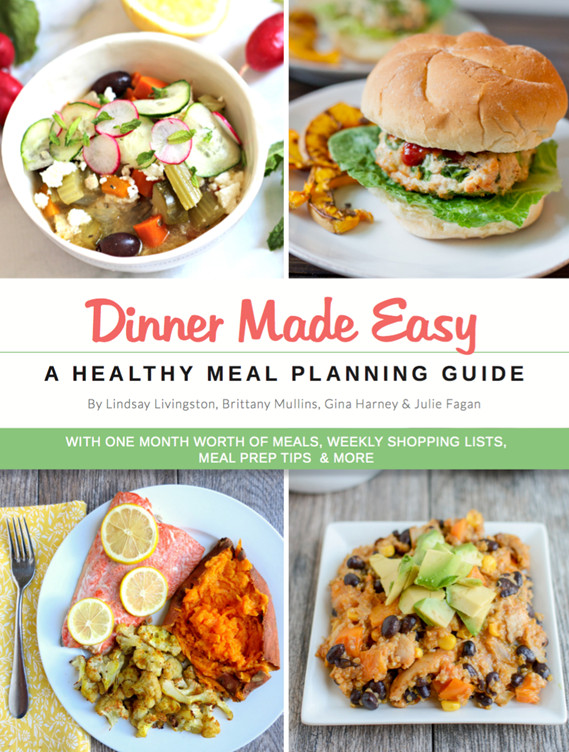 Simple And Healthy Dinners  Healthy Dinner Meal Plan e Month of Healthy Dinners
