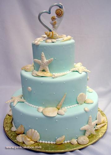 Simple Beach Wedding Cakes  5 Awesome Ideas Beach Wedding Cakes Wedding Cakes