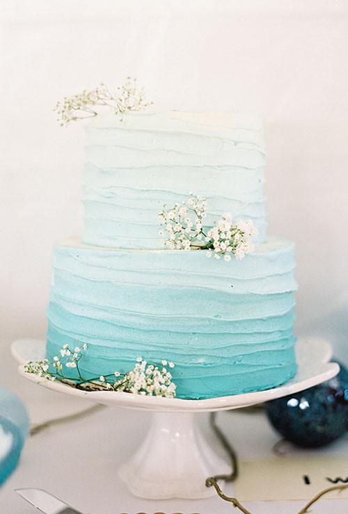 Simple Beach Wedding Cakes  21 Fun and Easy Beach Wedding Ideas