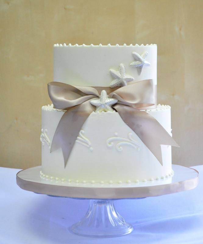 Simple Beach Wedding Cakes  Wedding Cake Gallery