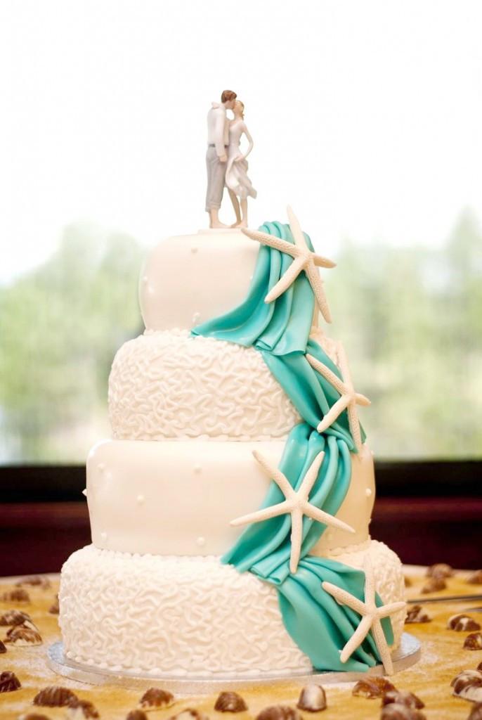 Simple Beach Wedding Cakes  18 Cake Ideas For Beach Theme Wedding Party – Cheap Unique