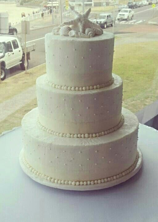Simple Beach Wedding Cakes  Simple Beach Wedding Cake Ideas