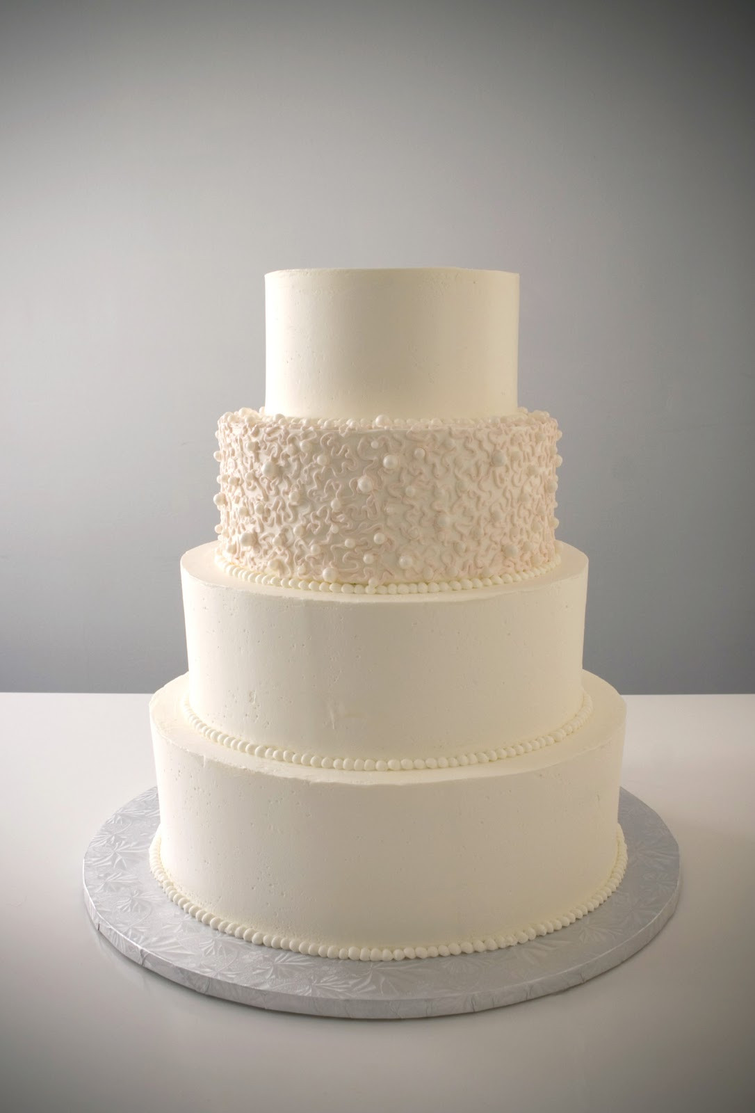 Simple Buttercream Wedding Cakes  A Simple Cake Customizing A Simple Cake