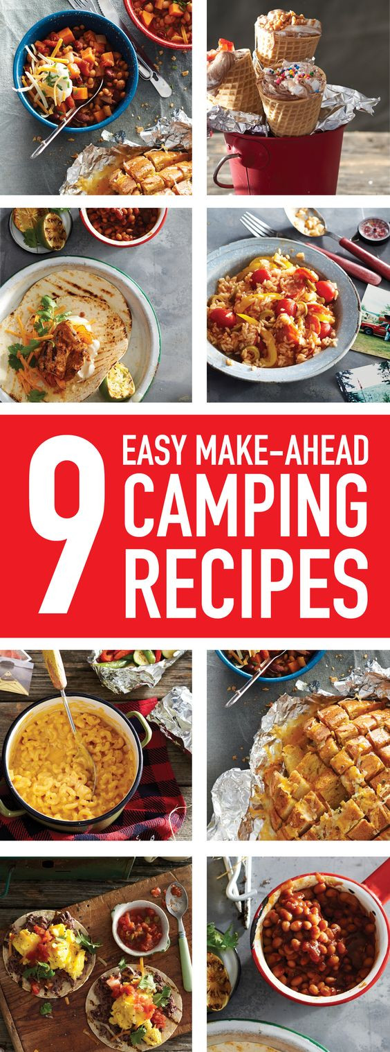 Simple Camping Dinners  Camping meals Meals and Coolers on Pinterest