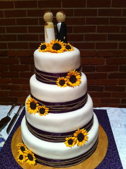 Simple Country Wedding Cakes  Simple Country Wedding Cake Topper ArtCardBook