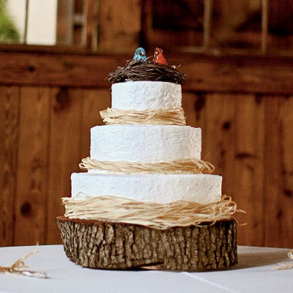 Simple Country Wedding Cakes  Simple Country Wedding Cakes Wedding and Bridal Inspiration