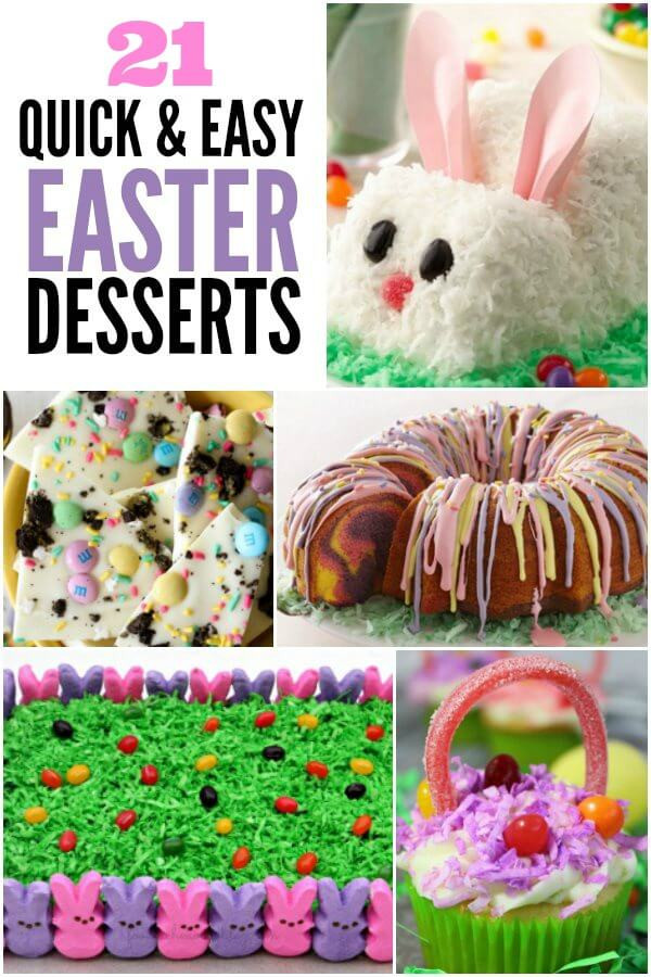 Simple Easter Desserts  Easy Easter Desserts 21 Cute Easter Desserts for Kids