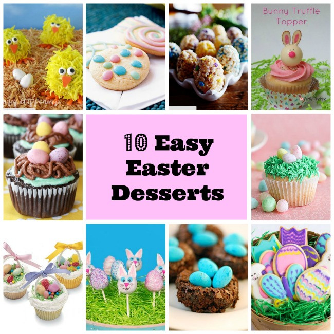Simple Easter Desserts  10 Easy Easter Dessert Collection