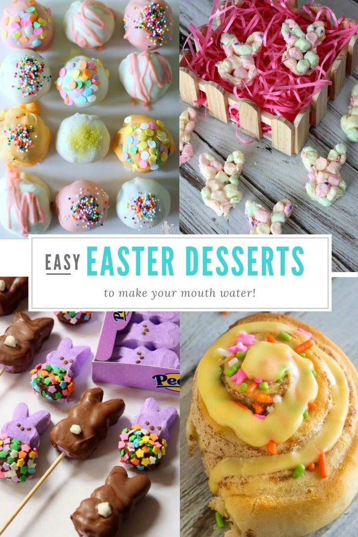 Simple Easter Desserts  1000 images about Easter on Pinterest
