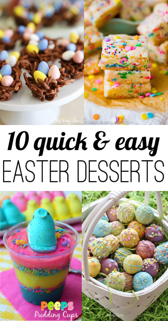 Simple Easter Desserts  10 easy Easter Desserts